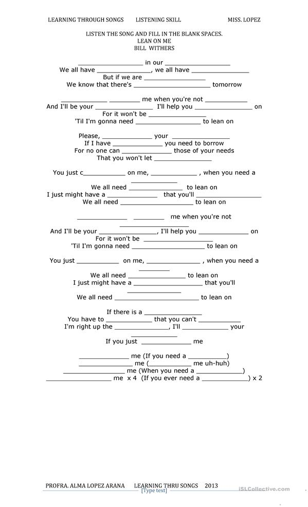 friendship - ESL worksheets