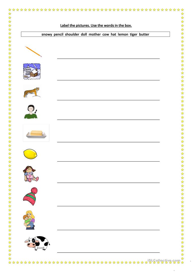 Vocabulary Revision Booklet (Ten pages -100 words) worksheet