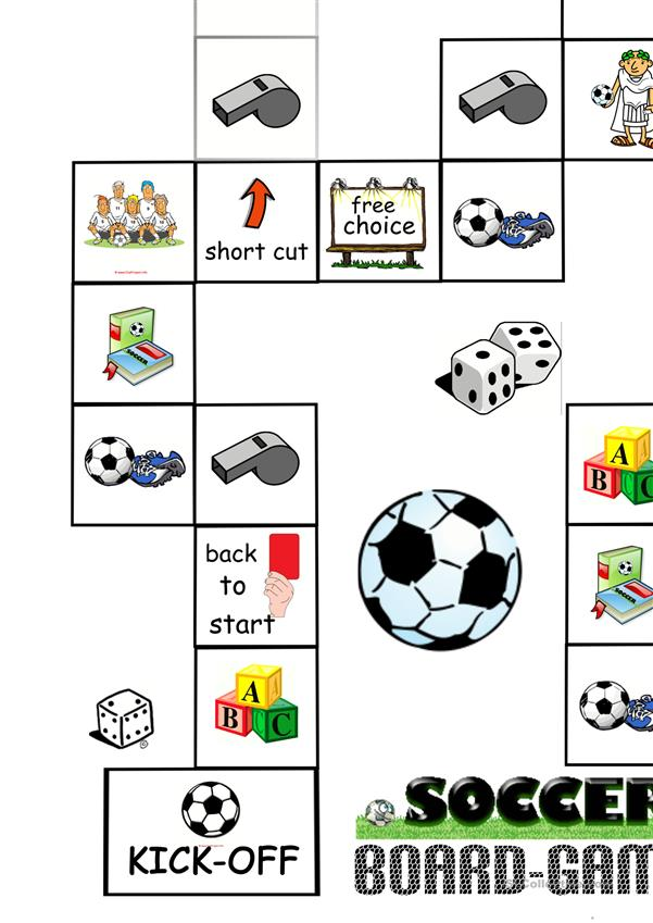 Soccer/Football Board Game (1) - Board