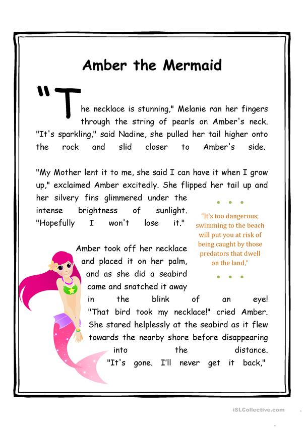 Think Tales 6 (Amber the Mermaid)