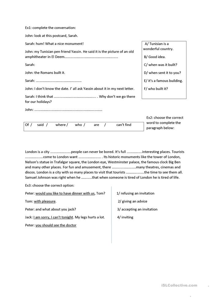 at the airport  - ESL worksheets