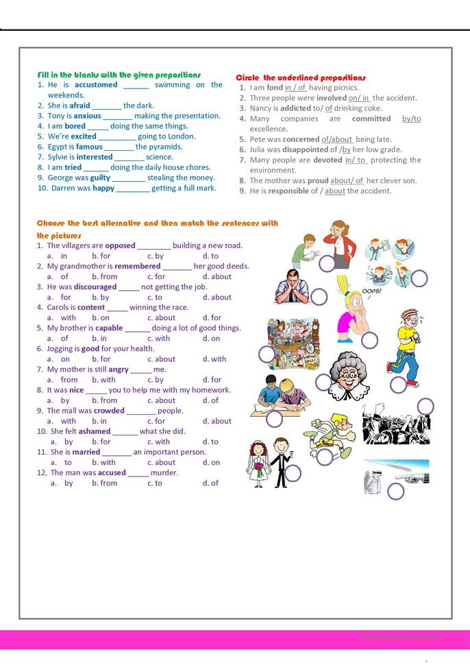revision for the 7th grade  - ESL worksheets