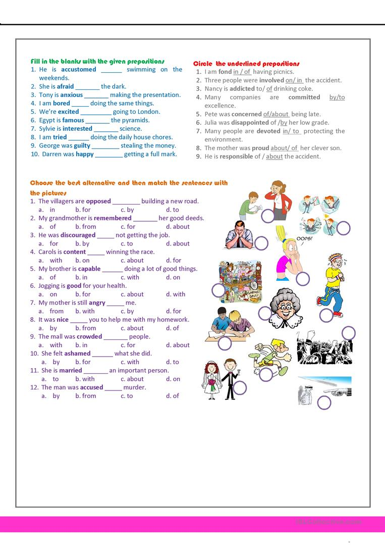 - Revision For The 7th Grade - English ESL Worksheets For Distance