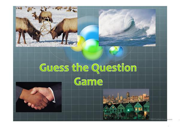 Guess the question game