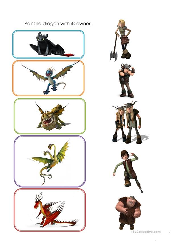 Movie Activity - HTTYD (Gift of the Night Fury)