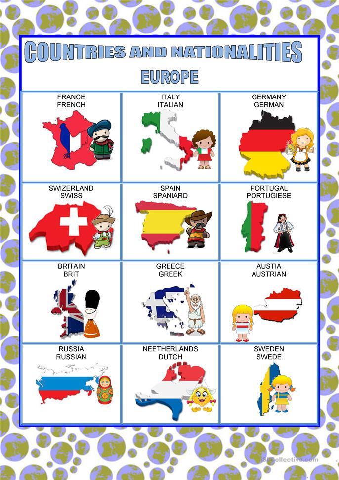 countries europe worksheet free esl printable worksheets made by teachers. Black Bedroom Furniture Sets. Home Design Ideas