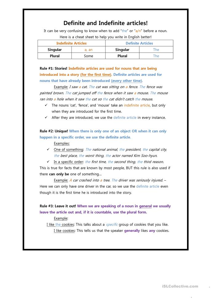 definite and indefinite articles worksheet free esl printable worksheets made by teachers. Black Bedroom Furniture Sets. Home Design Ideas