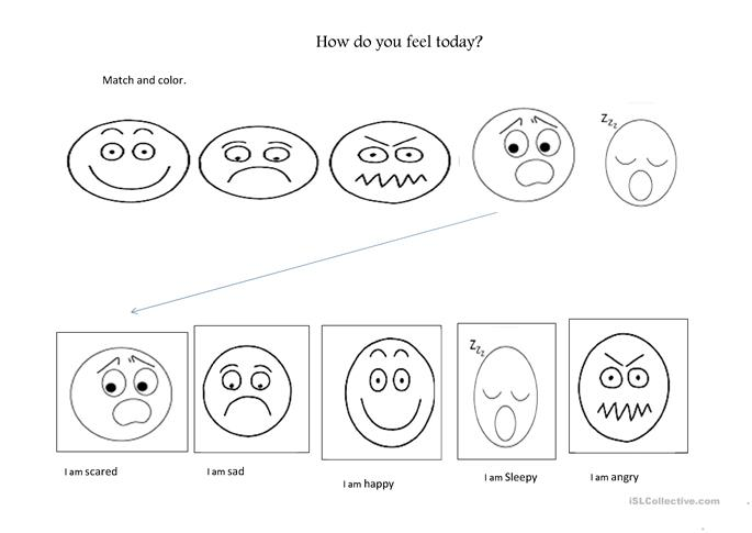 emotions worksheet Free ESL printable worksheets made by teachers – Mood and Tone Worksheets