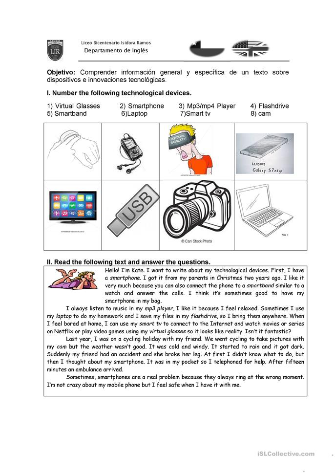 Worksheet Matching Cell Phone Texting : Essential prons and cons of cellphones worksheet free