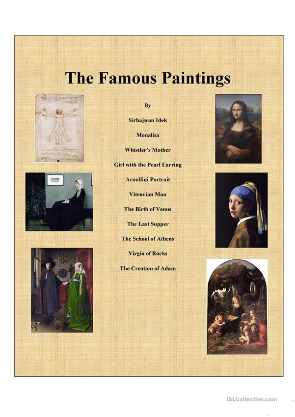 Famous Painting Series