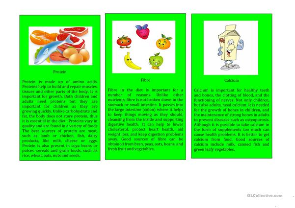 Nutrients Cards Series