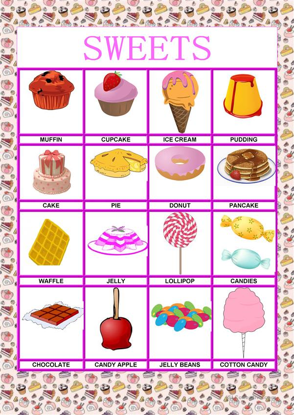 Poster - Food - Sweets