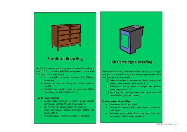 Recyclable Materials Series