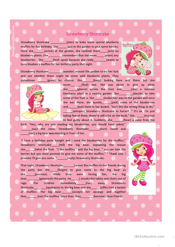 Story of an 80s Doll ( Strawberry Shortcake)