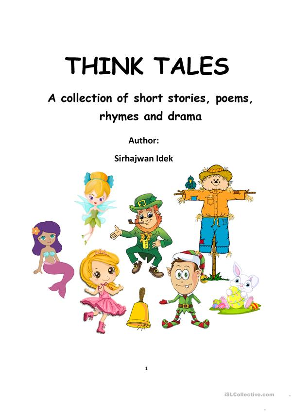 Think Tales Volume 1 ( A collection of Fantasy Tales & Thinking Tools)