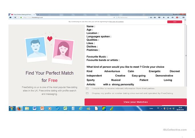 dating.com video clips application free