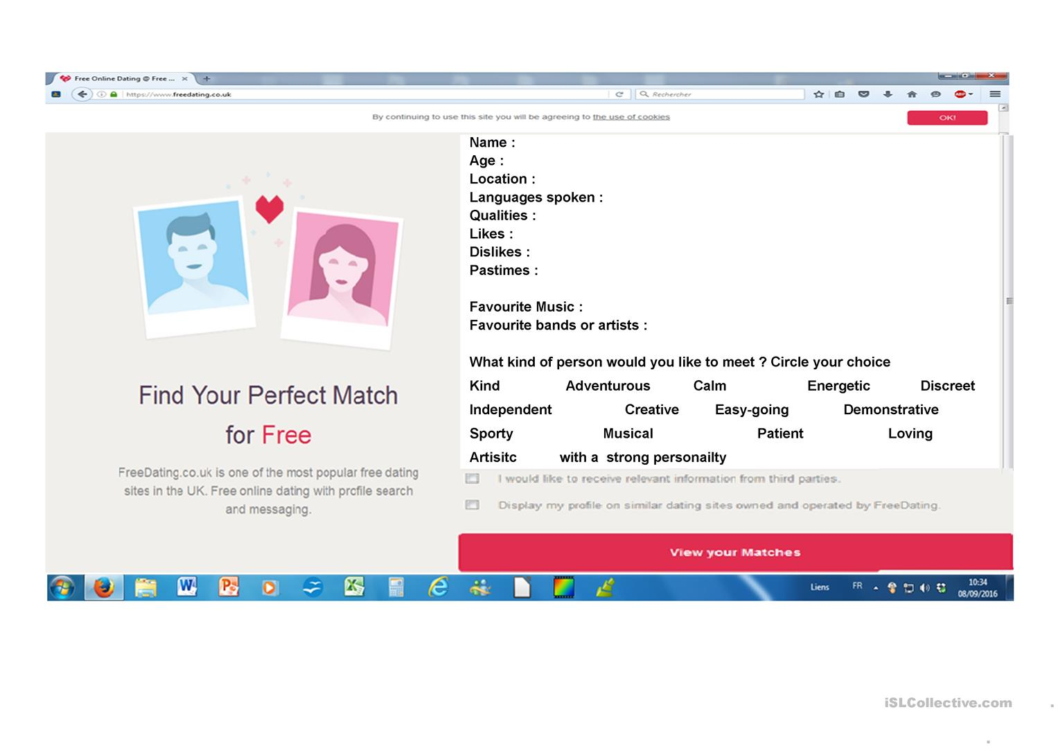A2 Dating Site.