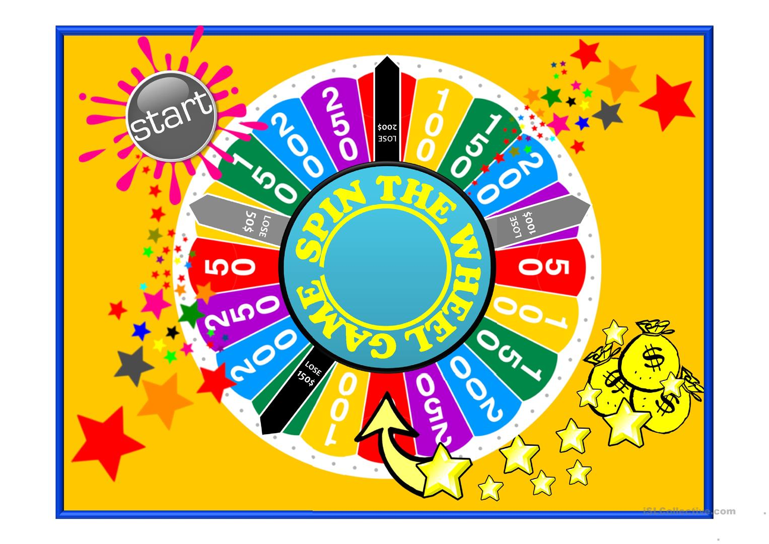 10 free esl spin the wheel powerpoint presentations exercises spin the wheel grammar revision game for higher levels esl powerpoints solutioingenieria Image collections