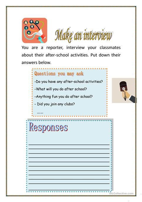 After school activities worksheet - Free ESL printable worksheets ...