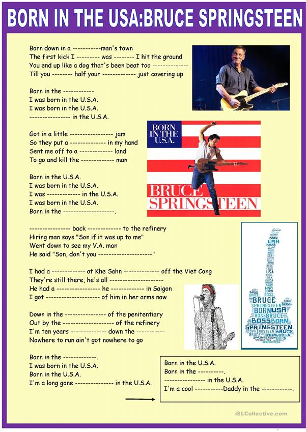 Born in the USA: Springsteen