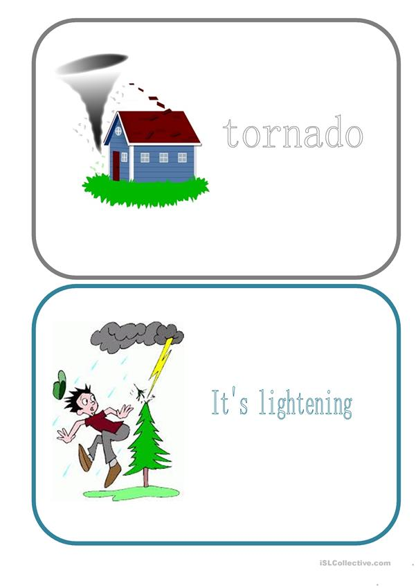 Flashcards - Weather