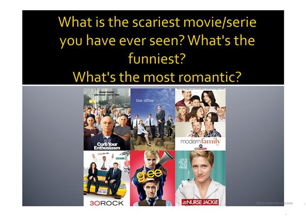 TV Series and Movies Conversation