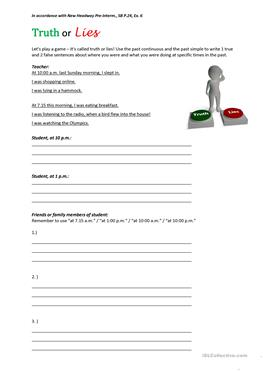 Say or Tell? - Fill-in-the-Blank Sentences - Quickworksheets.net