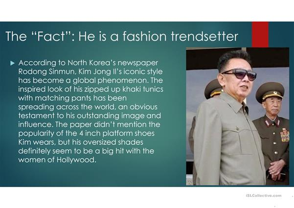 10 Facts about Kim Jong Il