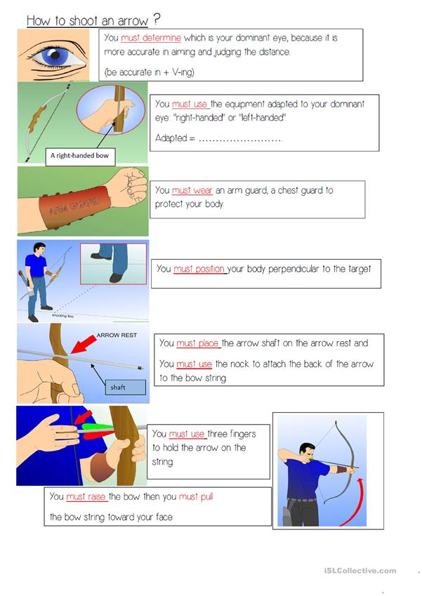 Archery and how to shoot an arrow for beginners
