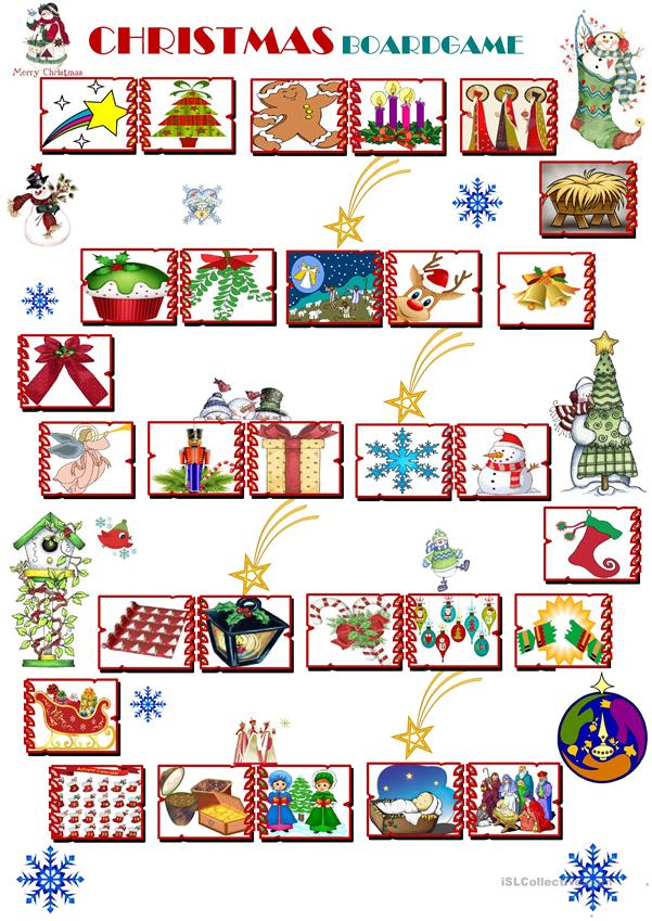 Christmas Boardgame elementary