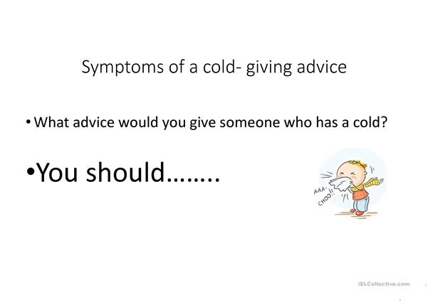 health and illness- colds