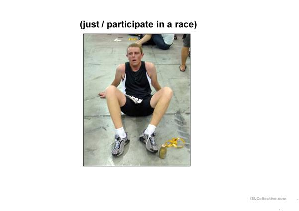 Present perfect: What has just happened?