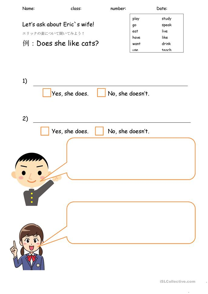 Online dating esl questions
