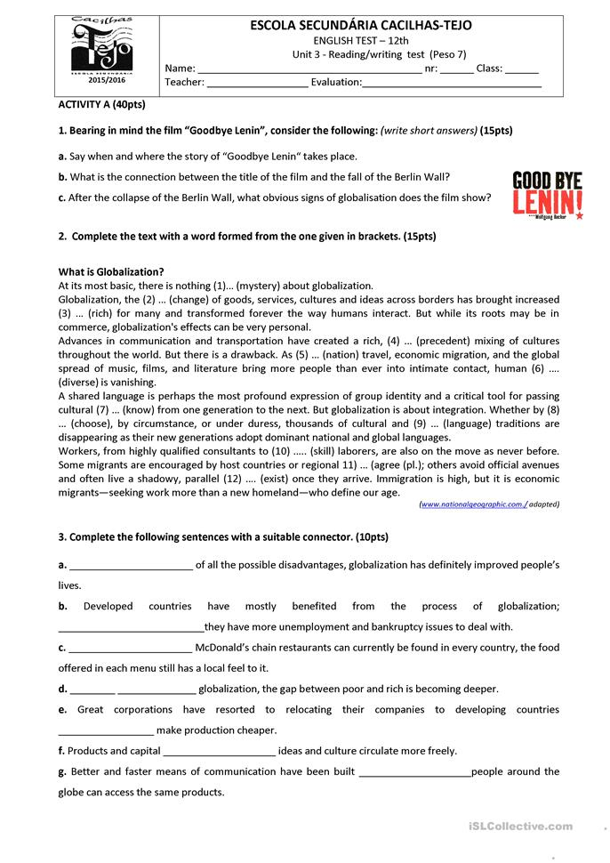 communication worksheet essay Here you can find a collection of means of communication downloadable and printable worksheets, shared by english language teachers.