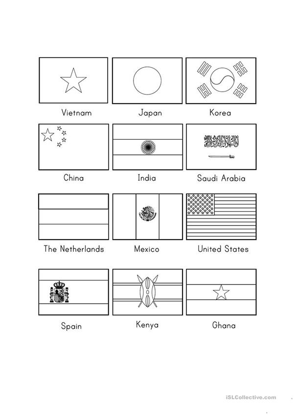Country Nationality English Esl Worksheets For Distance Learning