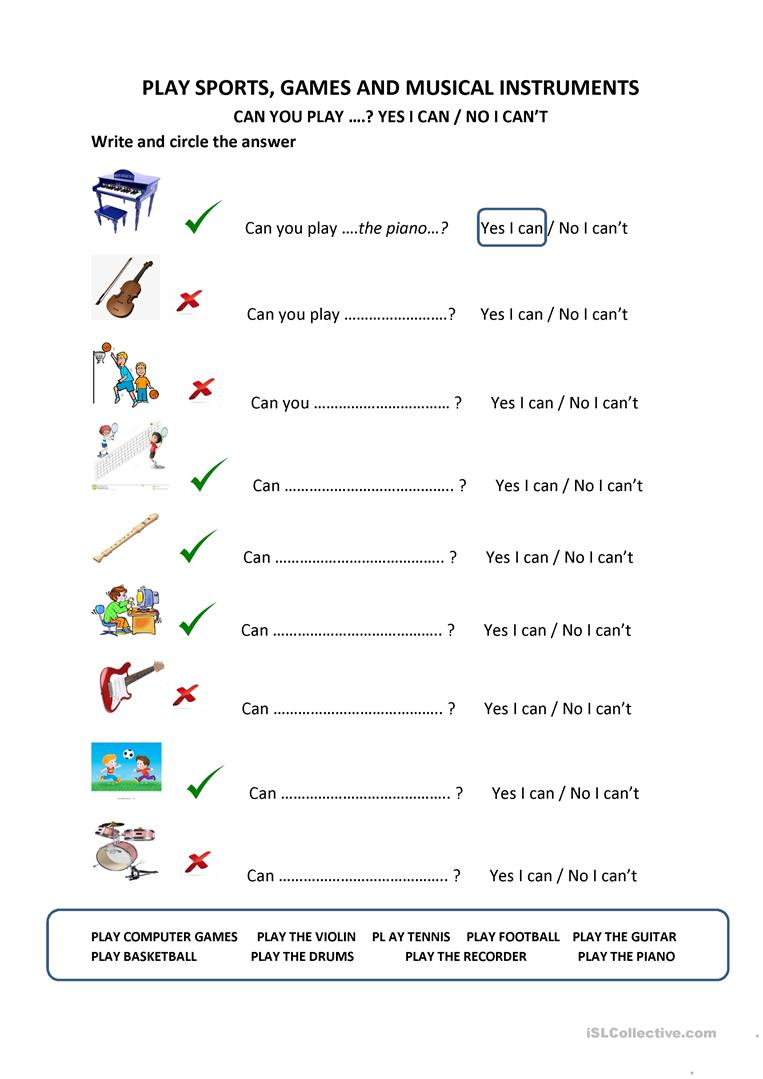 play class worksheet explorers 3 unit 2 can you play worksheet free esl 480
