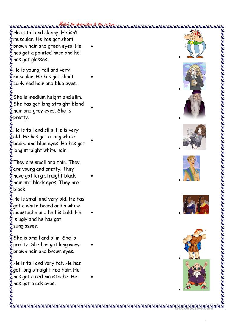 who's who? worksheet - Free ESL printable worksheets made by teachers