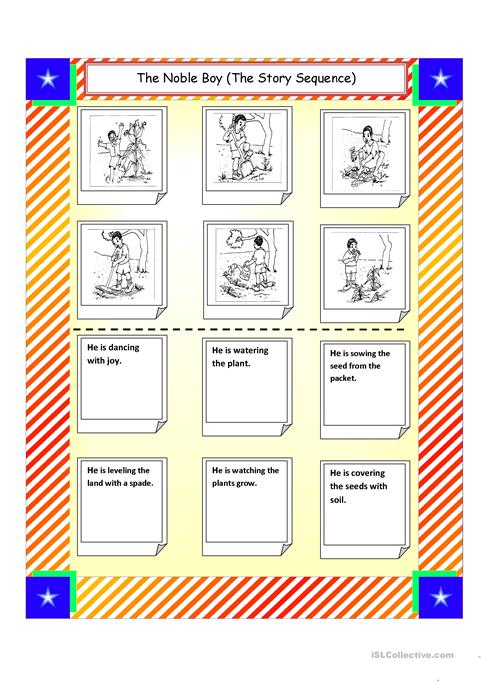 The Story Sequence Worksheet Free Esl Printable Worksheets Made By