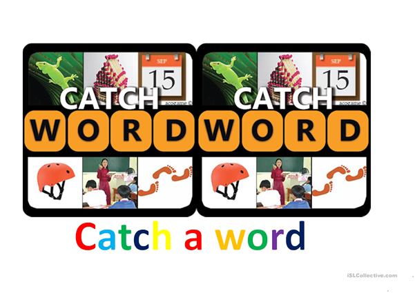 Catch the word - Game