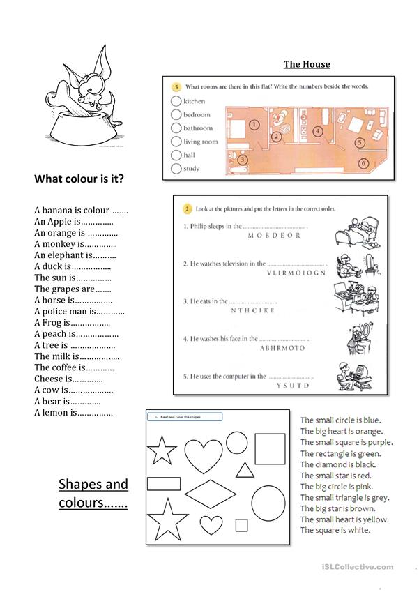 Mix Activities - Beginners - Elementary