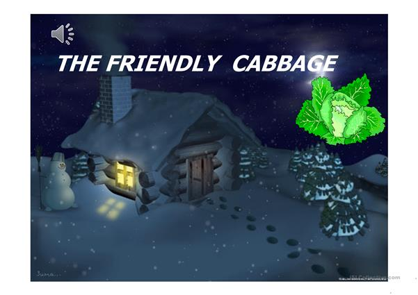 Story for kids - The friendly cabbage