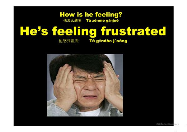 Feelings Jackie Chan