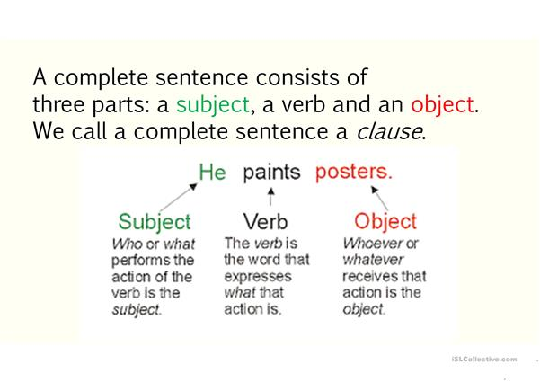 Teaching subject-verb agreement