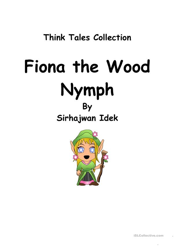 Think Tales 32 (Fiona the Wood Nymph)
