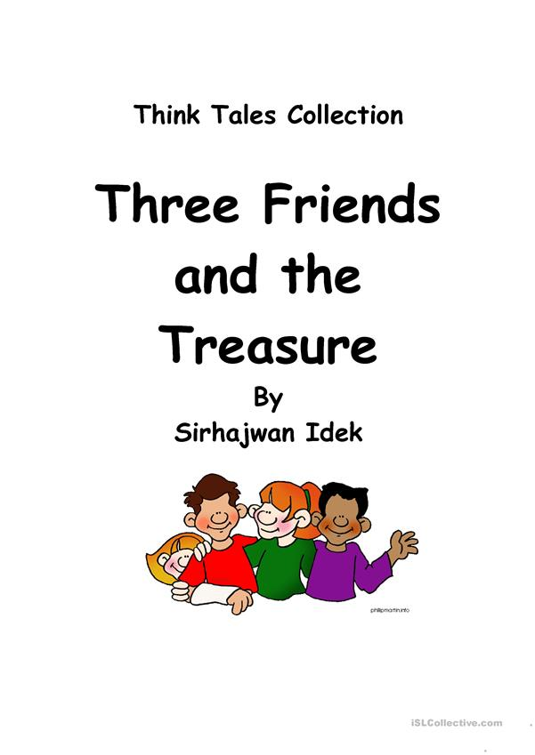 Think Tales 39 (Three Friends and the Treasure)
