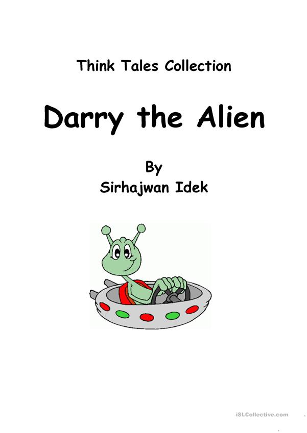 Think Tales 40 (Darry the Alien)