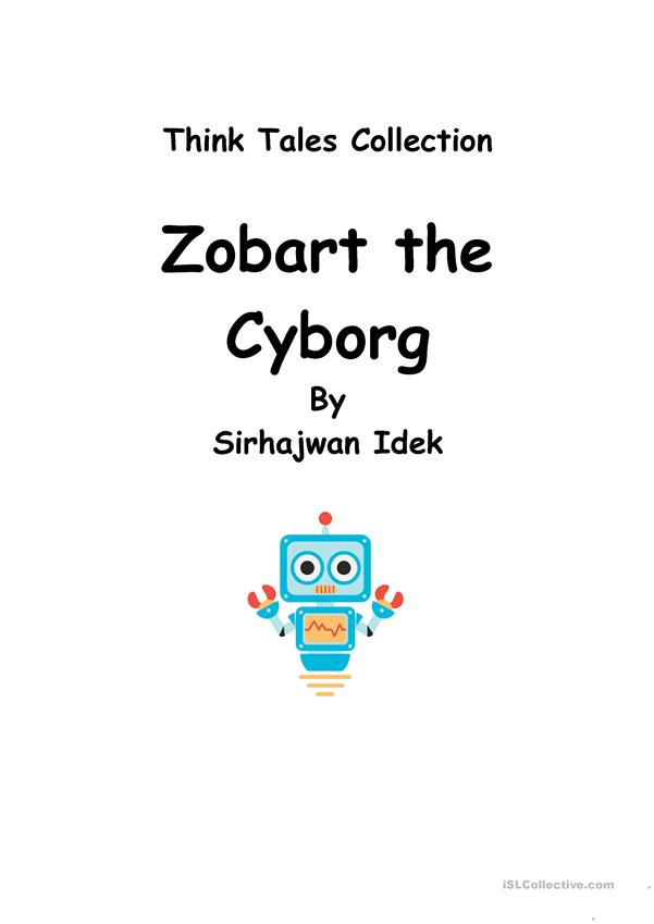 Think Tales 41 (Zobart the Cyborg)