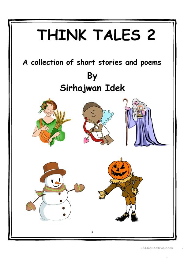 Think Tales Volume 2 ( A collection of short stories & poems)