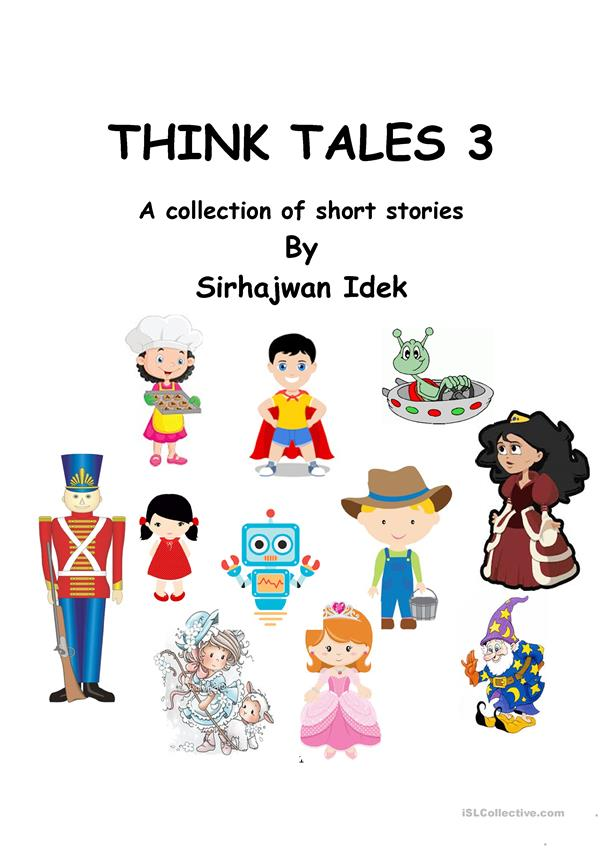 Think Tales Volume 3 ( A collection of short stories)