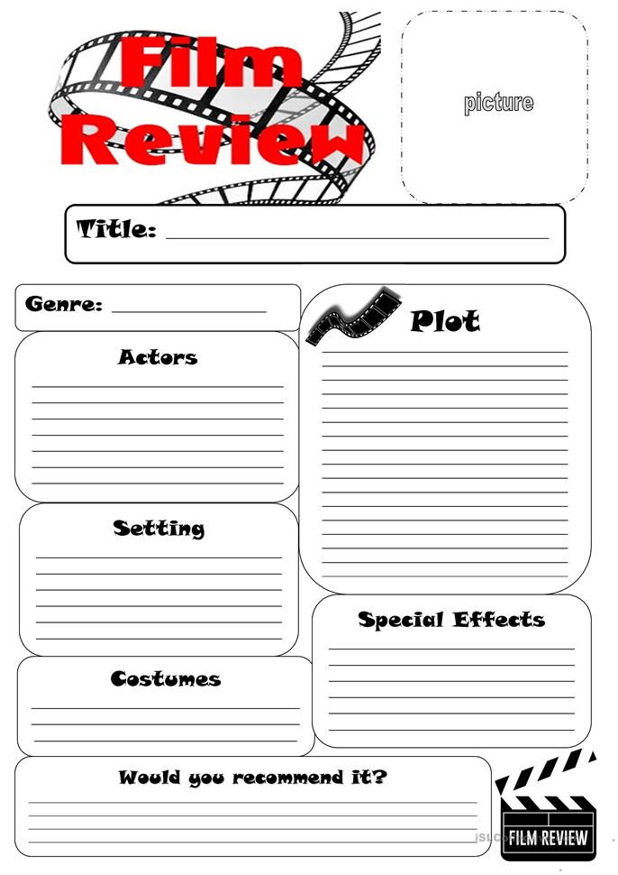 writing a review of a film sample Fce advice: how to write a review no comments but you have to check who you are writing the review how to write an article student movie review.